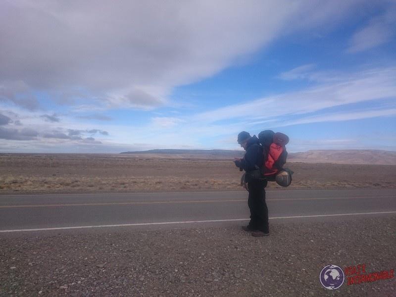Ruta 40 Mochilero A Dedo