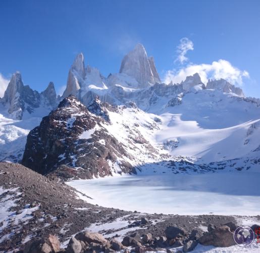 El Chaltén – Entrando al cielo nevado
