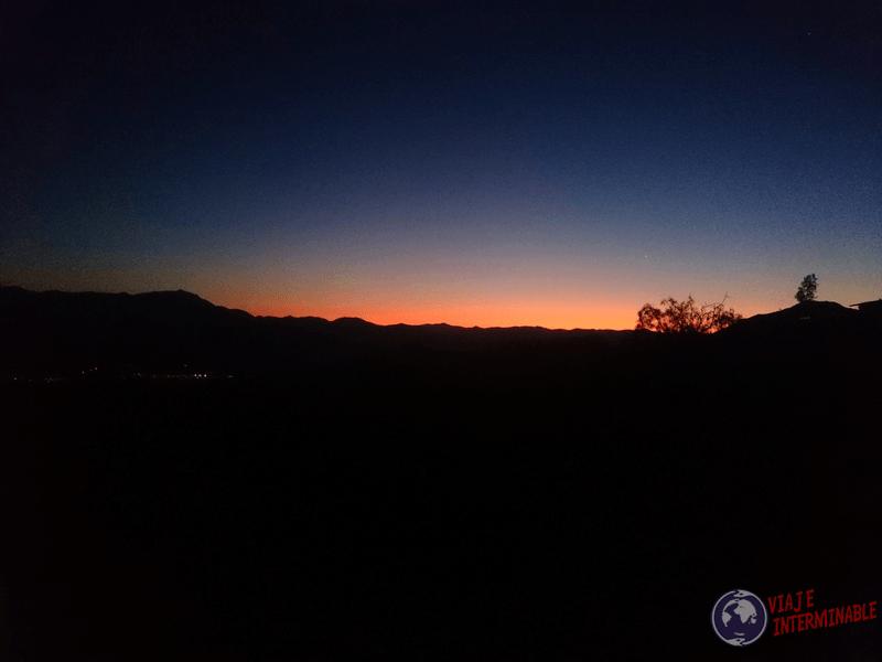 Anochecer en Mamalluca - San Isidro