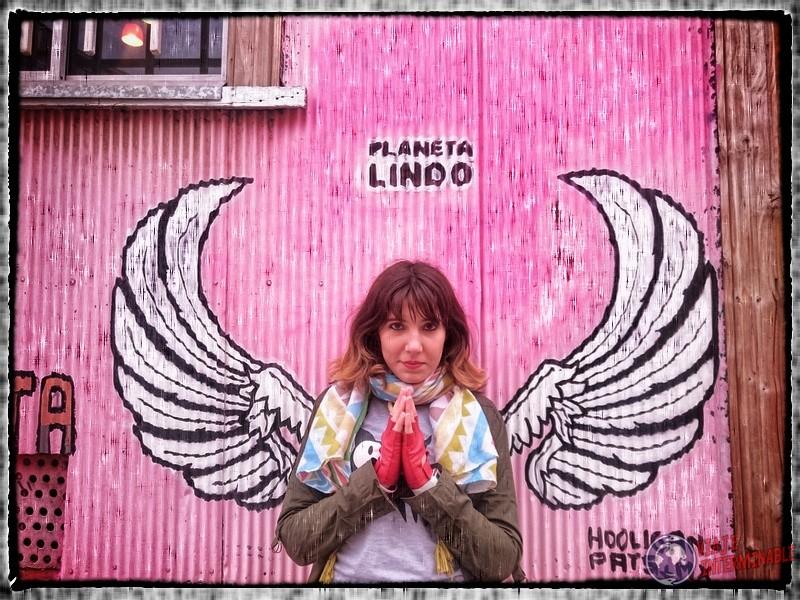Foto Mural Valparaiso Alas Angel Planeta Lindo