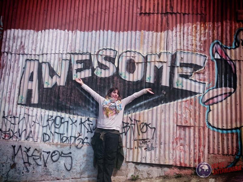 Foto Mural Valparaiso Awesome