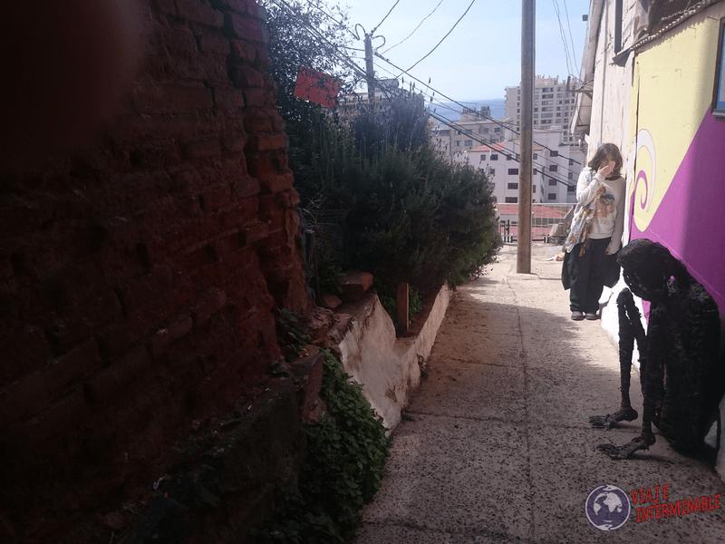 Foto Mural Valparaiso Persona Llorando