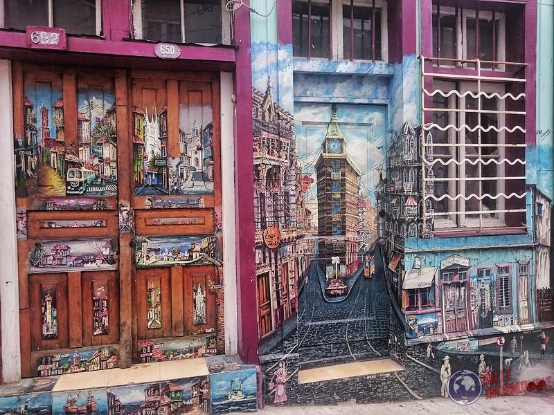 Foto Mural Valparaiso Puerta