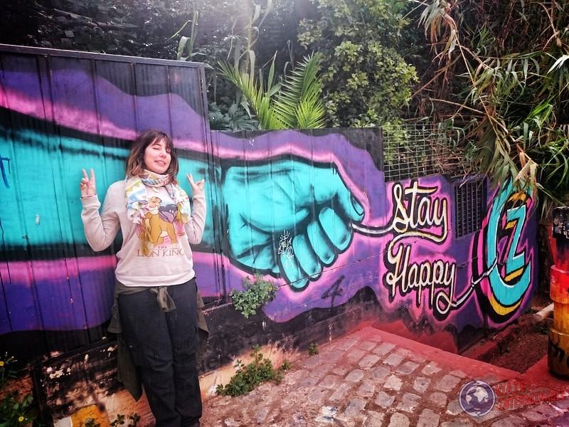 Foto Mural Valparaiso Stay Happy