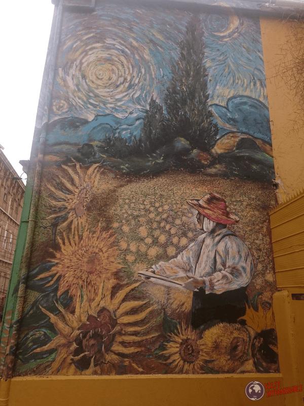 Foto Mural Valparaiso Van Gogh