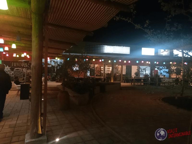 Mercado urbano en Talca
