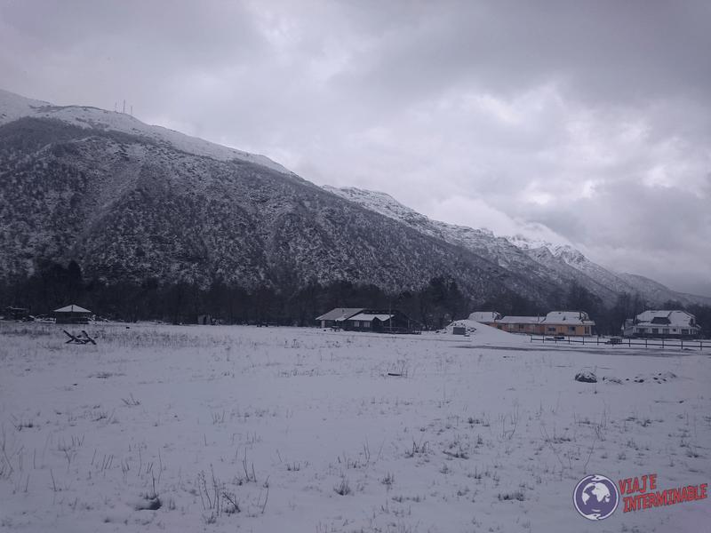 Otro paisaje nevado de Las Trancas