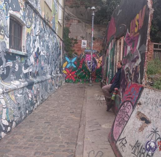 Valparaiso….¿Como encontrar los principales grafitis?