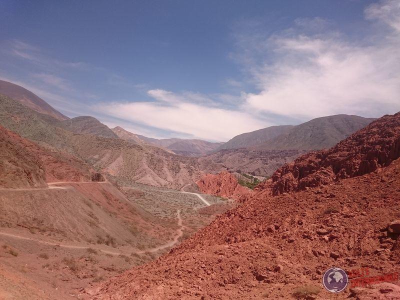Cerros en Purmamarca