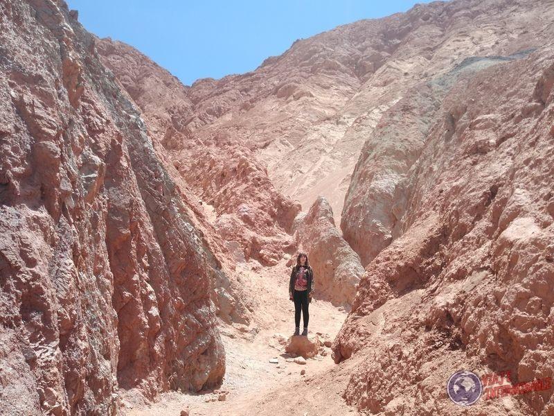 Entre las montañas de Purmamarca