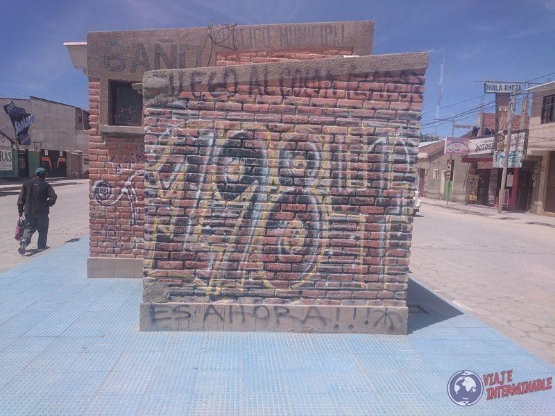 Grafiti de 1984 en Uyuni