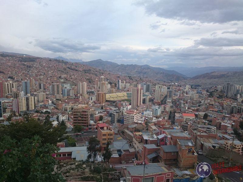 Mirador Killi Killi en La Paz