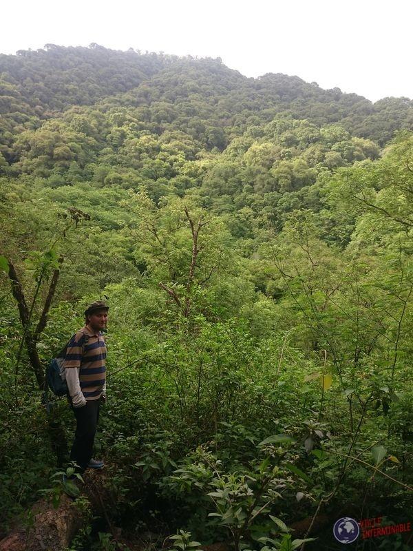 Quebrada de San Lorenzo en las alturas