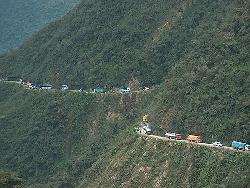 Ruta de la Muerte Bolivia