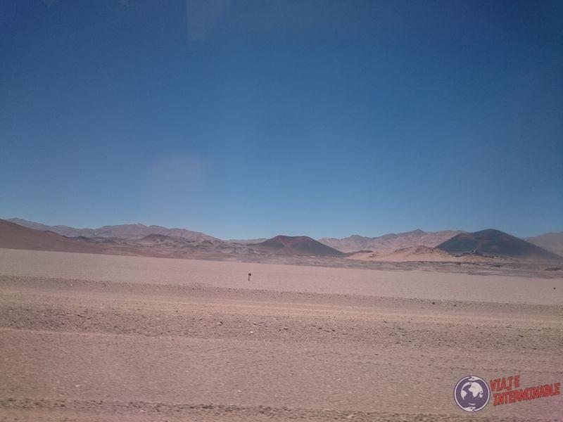 Ruta desertica hacia Antofagasta de la Sierra
