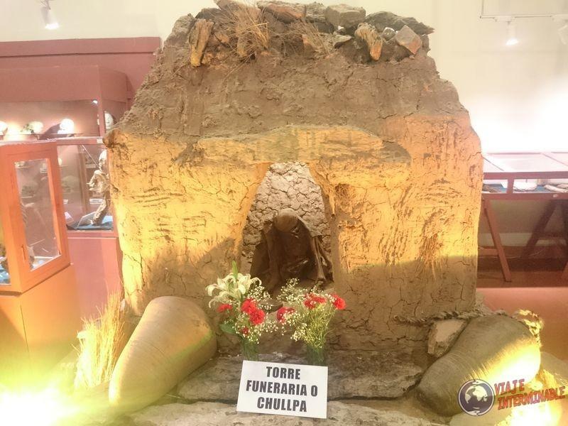Torre funeraria Museo Oruro
