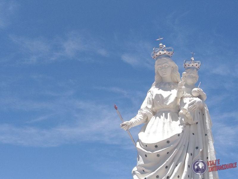 virgen del socavon Oruro