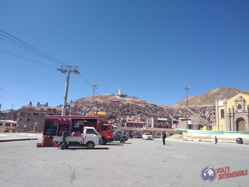 virgen desde lejos Oruro
