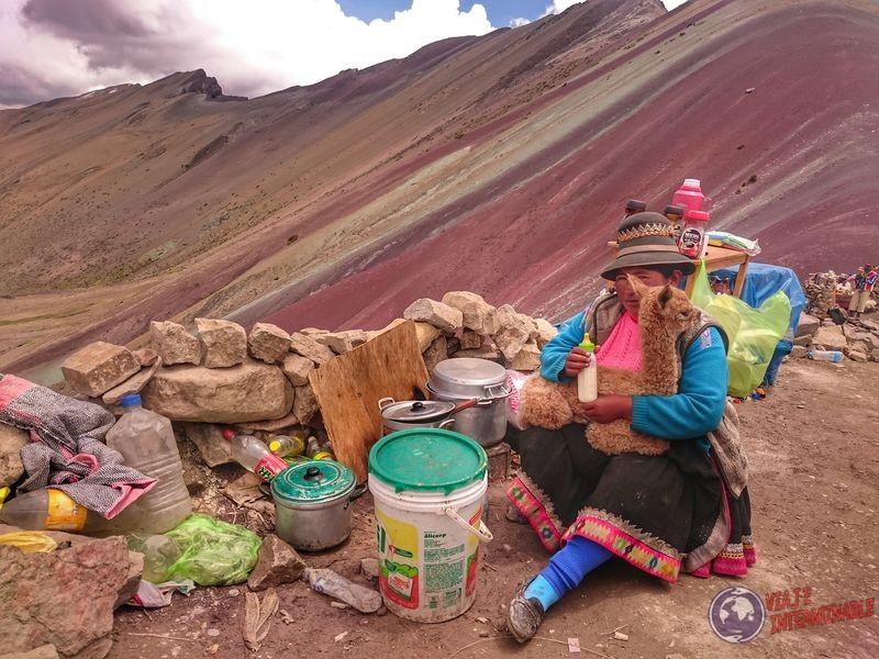 Alpaca Montaña Colores Peru