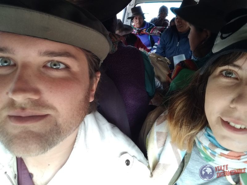 Camioneta Cholitas