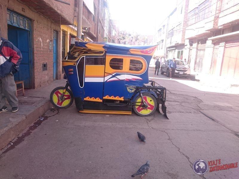 Puno Moto Taxi
