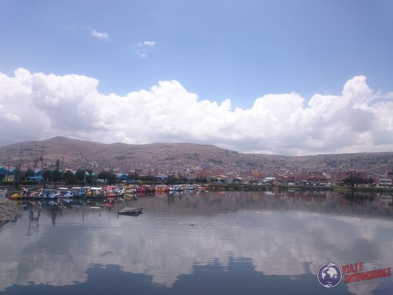 Puno Muelle Titicaca