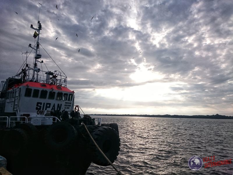 Barco en Machala Ecuador