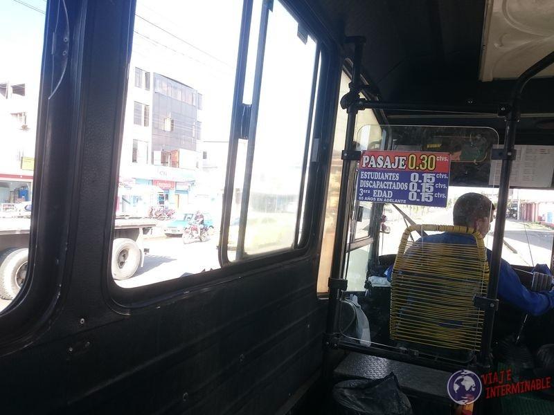 Bus Ecuador Huaquillas