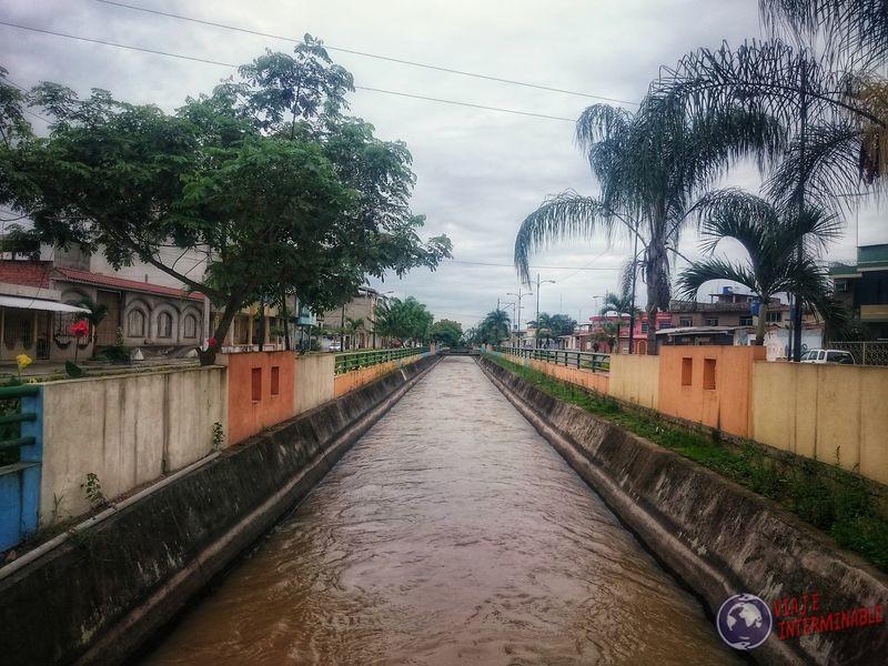 Canal en Pasaje Ecuador