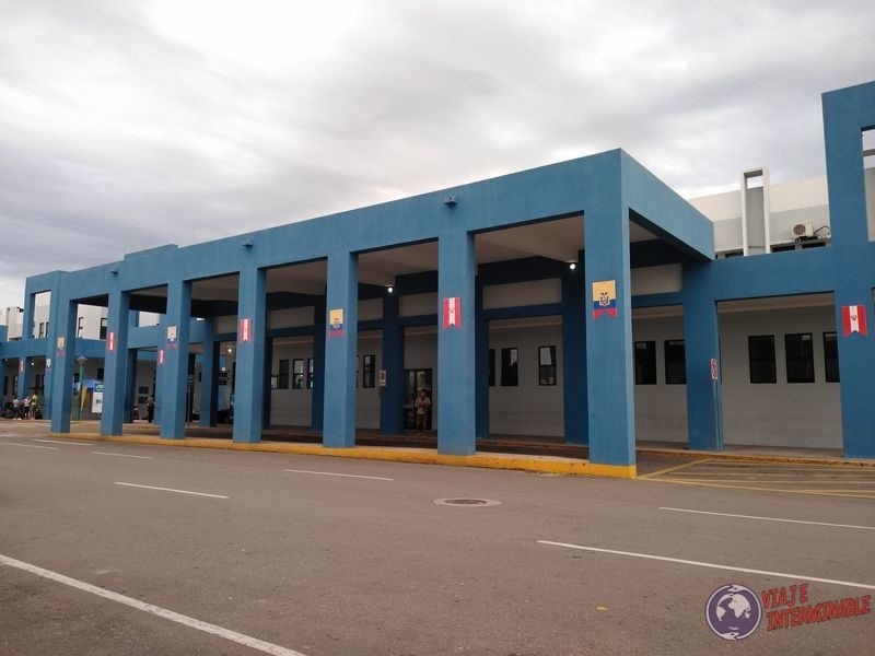 Frontera Peru Ecuador Panamericana
