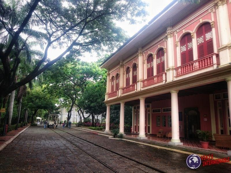 Parque histórico Guayaquil edificio Ecuador