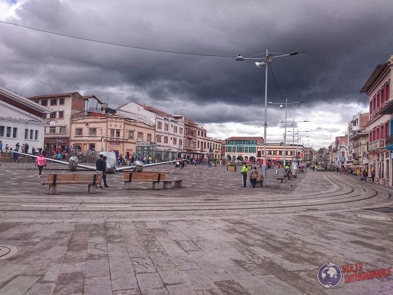 Plaza de Cuenca Ecuador