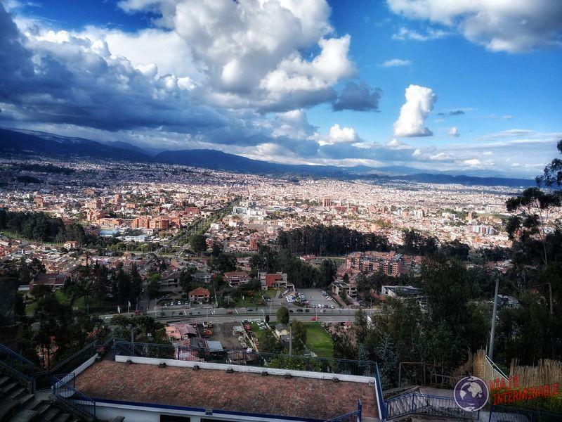 Vista mirador Turi Cuenca Ecuador