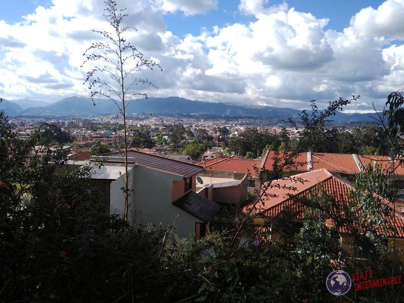 Vistas subida del Turi Cuenca Ecuador