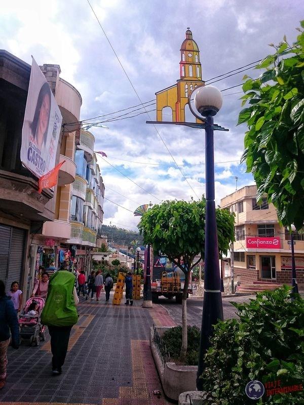 Ciudad de Otavalo Ecuador