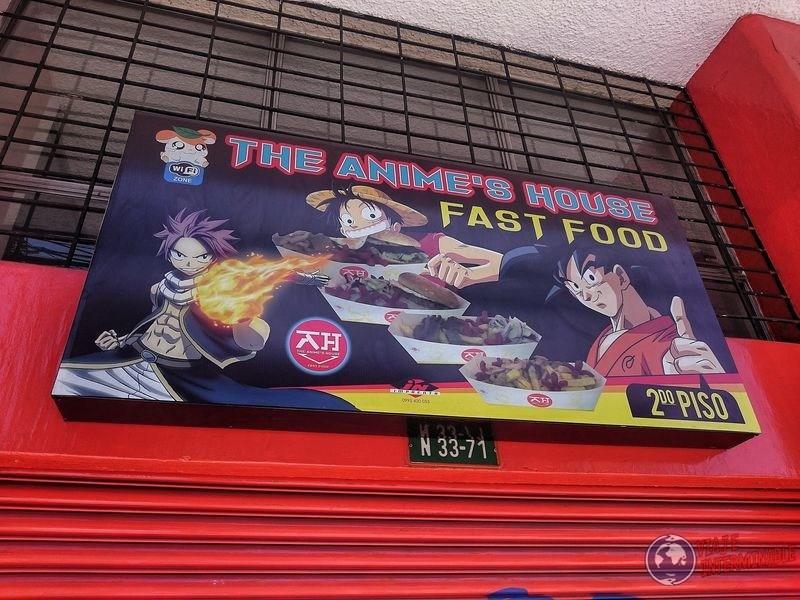 Comida rapida anime Cumbaya Ecuador