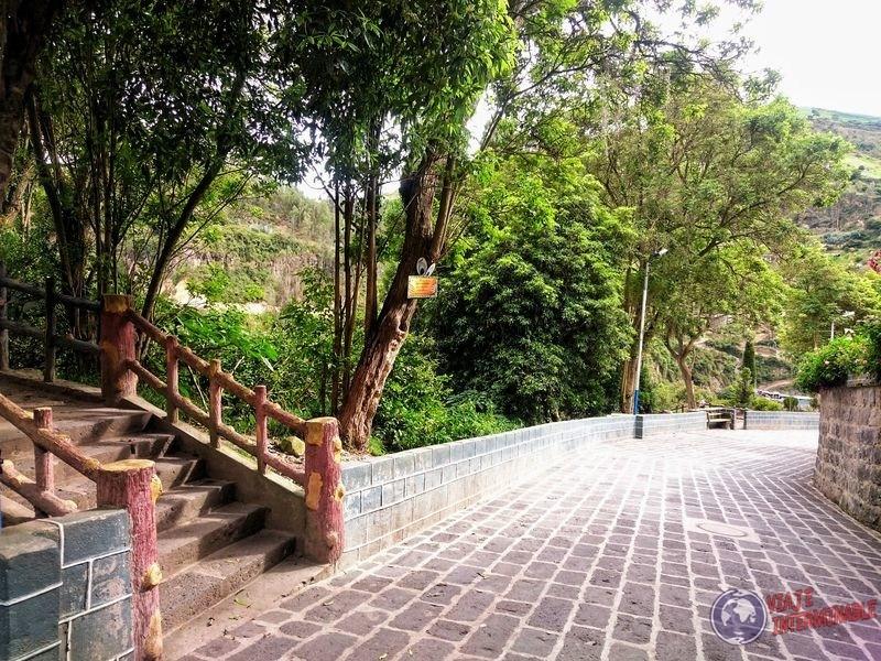 Escaleras camino a Lajas Colombia
