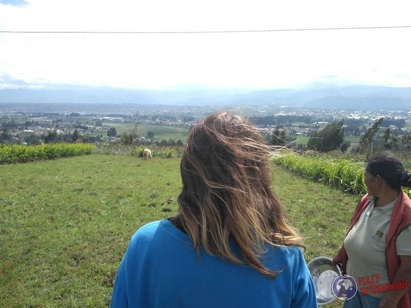 Granja de Latacunga vista
