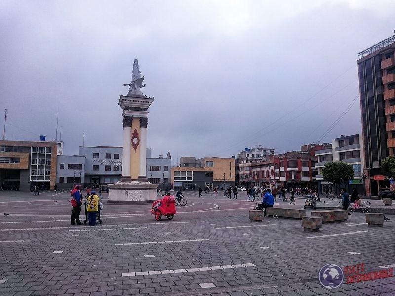 Ipiales plaza Colombia