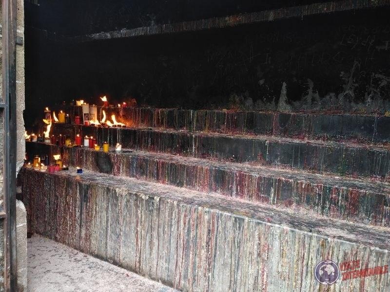 Santuario para velas Santuario de Lajas Colombia