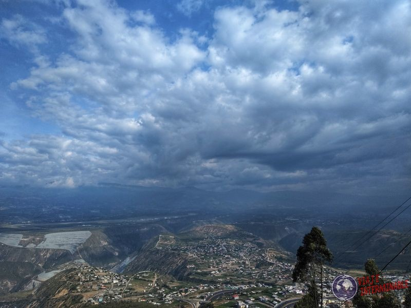Vista desde Calderon Quito