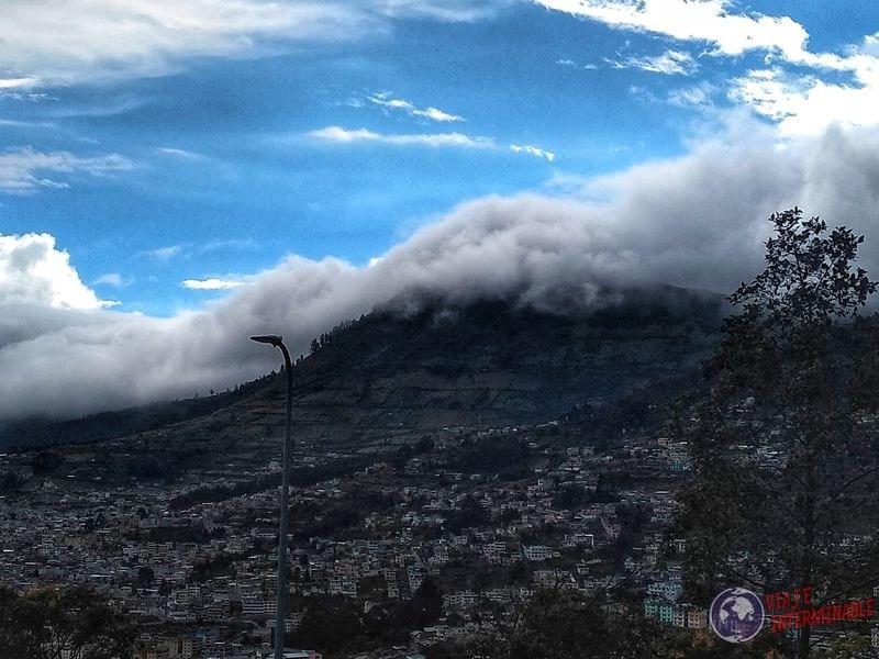 Vista desde Panecillo Quito
