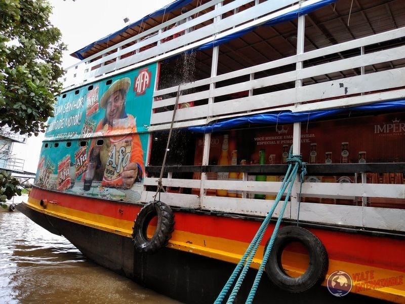 Barco Rei Davi Tabatinga Brasil