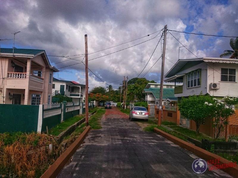 Calles de Georgetown Guyana