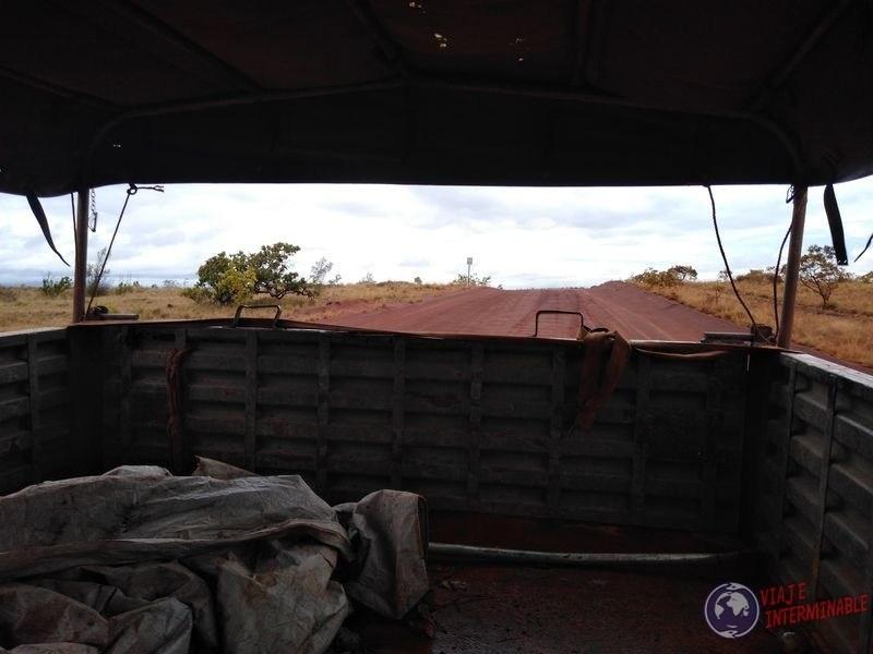 Camion de guerra guyana