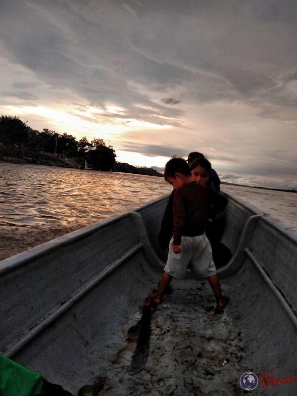 Canoa de Rocafuerte a Pantoja Ecuador