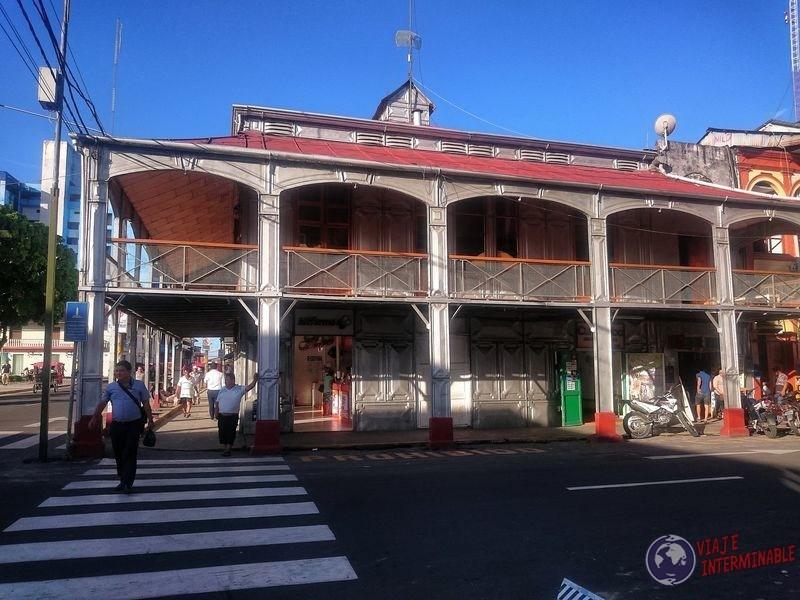 Casa de Fierro Eiffel Iquitos Peru