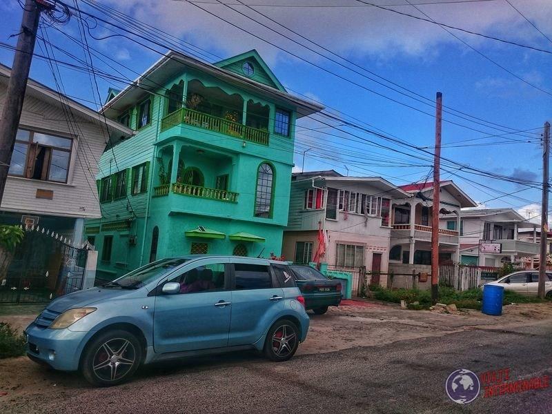 Casas tres pisos Georgetown guyana