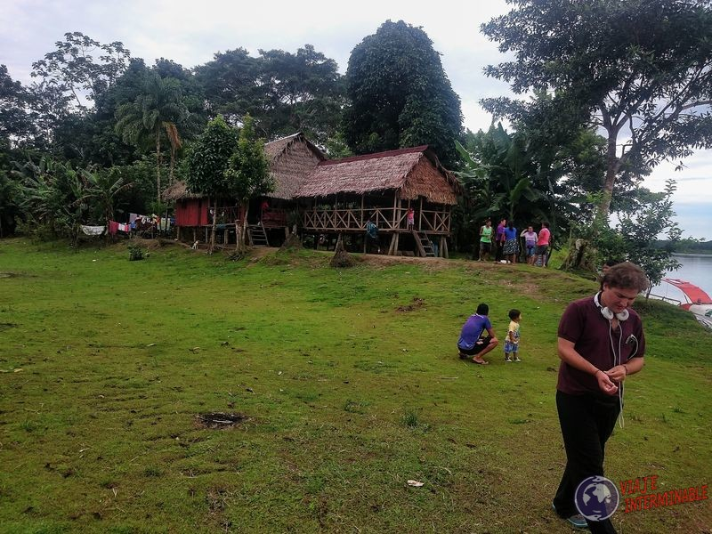 Comedor de camino a Iquitos amazonas Peru
