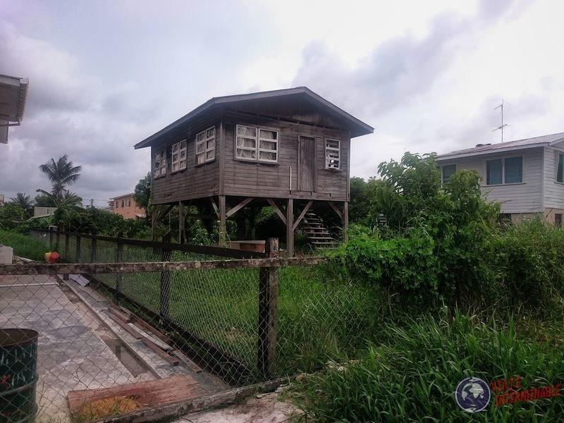 Construccion en pilares casas Georgetown Guyana